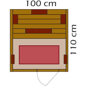 BTM Infrarotkabinen TK100