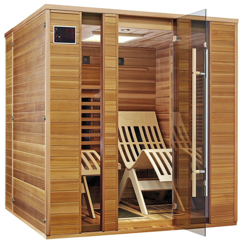 infrarotkabine therapeutica relax 2 btm. Black Bedroom Furniture Sets. Home Design Ideas