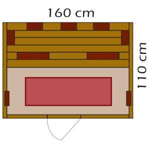 BTM Infrarotkabinen Designo 130