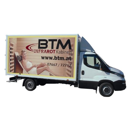 BTM Infrarotkabinen Lieferfahrzeug