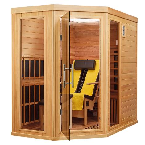 BTM Infrarotkabinen Therapeutica Liege Corner Comfort